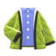 Quilted Jacket (Lime) NH Icon.png