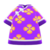 Silk Floral-Print Shirt (Purple) NH Icon.png