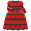 Victorian Dress (Red) NH Icon.png
