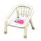 Baby Chair (White - Strawberry) NH Icon.png