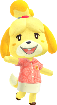 Isabelle Animal Crossing Wiki Nookipedia