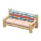 Log Extra-Long Sofa (White Wood - Geometric Print) NH Icon.png
