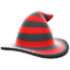 Mage's Striped Hat (Red) NH Icon.png