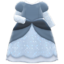 Princess Dress (Gray) NH Icon.png