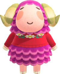 Stella, an Animal Crossing villager.