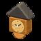 Wooden-Block Wall Clock (Mixed Wood) NH Icon.png