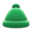 Aran-Knit Cap (Green) NH Icon.png