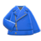 Biker Jacket (Blue) NH Icon.png