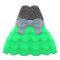 Bubble-Skirt Party Dress (Green) NH Icon.png