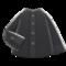 Collarless Shirt (Black) NH Icon.png