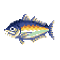 Horse Mackerel DnMe+ Field Sprite Upscaled.png