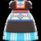 Milkmaid Dress (Blue) NH Icon.png