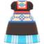Milkmaid Dress (Blue) NH Icon.png