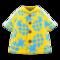 Pineapple Aloha Shirt (Yellow) NH Icon.png