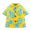 Pineapple Aloha Shirt (Yellow) NH Icon.png