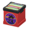 Record Box (Red - Sunset) NH Icon.png