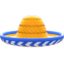 Sombrero (Orange) NH Icon.png