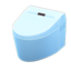 Tankless Toilet (Light Blue)