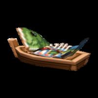 Bass Boat-Wrap Sushi