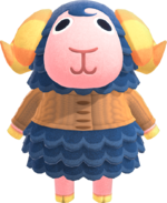 Artwork of Eunice the Sheep