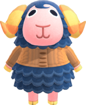Eunice, an Animal Crossing villager.