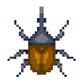 Hercules Beetle DnMe+ Sprite Upscaled.png