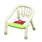 Baby Chair (White - Train) NH Icon.png