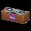 DJ's Turntable (Brown - Rock Logo)