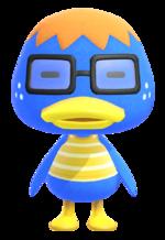 Artwork of Derwin the Duck