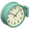 Double-Sided Wall Clock (Green) NH Icon.png