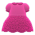 Floral Lace Dress (Ruby Red) NH Icon.png