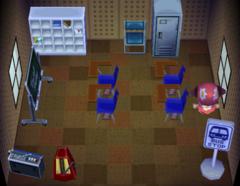 Ozzie's house interior