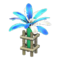 Festivale Lamp (Blue) NH Icon.png