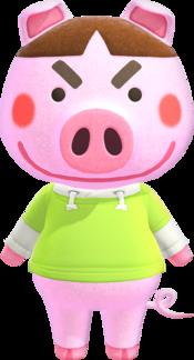 Truffles, an Animal Crossing villager.