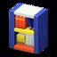 Wooden-Block Bookshelf
