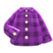 Flannel Shirt (Purple) NH Icon.png