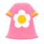 Flower-Print Dress (Pink) NH Icon.png