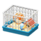 Hamster Cage (Blue) NH Icon.png