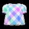 Plaid Puffed-Sleeve Shirt (Dreamy Plaid) NH Icon.png