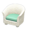 Rattan Armchair (White) NH Icon.png