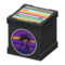 Record Box (Black - Sunset) NH Icon.png