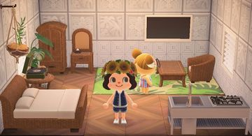 Interior of Alice's house in Animal Crossing: New Horizons