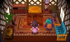 Pango's house interior