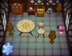 Robin's house interior