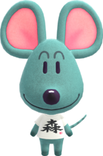 Artwork of Samson the Mouse
