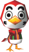 Shoukichi, an Animal Crossing villager.