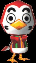 Artwork of Shoukichi the Bird