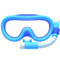 Snorkel Mask (Blue) NH Icon.png