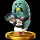 Brewster SSB4 Trophy (Wii U).png