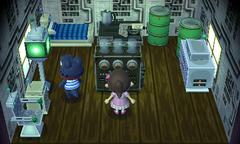 Del's house interior